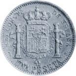 PRUEBAS 1 PESETA 1930. MARCAS CLP Y SLM Thumbnails