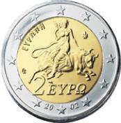 2 Euro Grecia 2011 normales