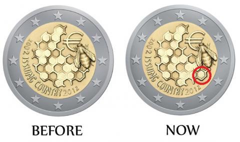 La De 2012 Monedas Euro Años 2 Conmemorativos Y 10 Circulación vnqfUxaHY