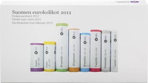 Paquete con los 8 rollos Finlandia 2012