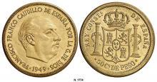 Prueba de 50 Centavos de Peso 1949