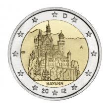 2 euros conmemorativos Alemania 2012 Bavaria