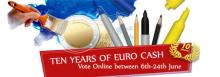 Votación online del mejor diseño 2 Euro 2012 conmemorativos Diez años del Euro
