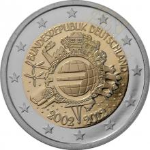 2 Euro Conmemorativos Alemania 2012 A
