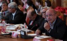 Almunia, durante su conferencia en la UIMP sobre Europa y la economía.