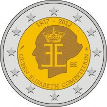 2 Euro Conmemorativos Bélgica 2012