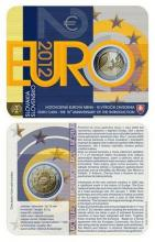 Coincard BU 2 Euro Eslovaquia 10 Años de la circulación del Euro