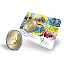 Coincard Holanda 2012 2 Euro 10 Años de la circulación del Euro