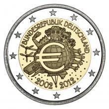 2 Euro Conmemorativos Alemania 2012