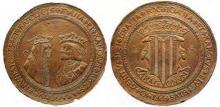 100 Ducados de oro Juana y Carlos