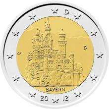2 euros conmemorativos Alemania 2012
