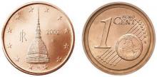 1 Euro Cent Italia 2002 Mole Antonelliana