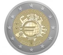 Diseño Ganador 2 Euro Conmemorativos 2012, 10 años de la circulación del euro