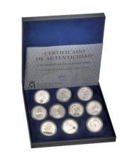 España emite un estuche con todas las monedas de 12€