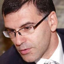 El ministro de Finanzas de Bulgaria Simeón Djankov