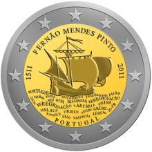 2 Euro Conmemorativos Portugal 2011