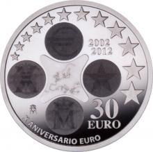30 Euro España 2012