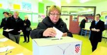 Votaciones en Croacia